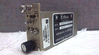 Ectron Differential Dc Amplifier 418aipuy-5-m825 Used 418aipuy5m825