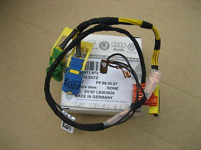 NEW GENUINE VW TOUAREG WIRING LOOM FOR STEERING WHEEL AIR BAG 7L6971673