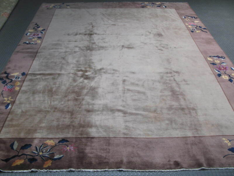 Antique Art Deco Chinese Rug 11