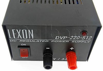 Dc Regulated Power Supply 110v Ac To 12.5v Dc