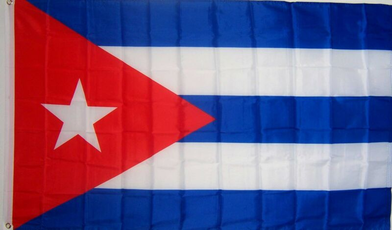 NEW 3x5ft CUBA CUBAN FLAG BANNER  better quality usa seller