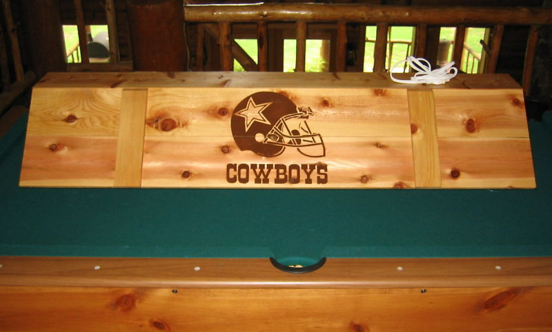 NFL Cowboys Pool Table Poker Billiards Light