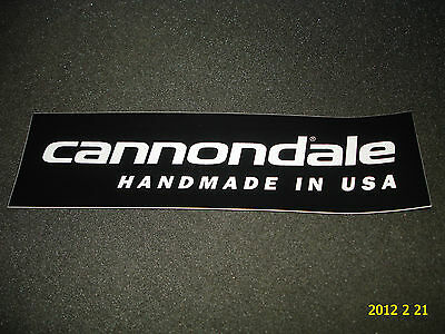 07023 Cannondale Made In The USA Bicycle Sticker Transfer Decal