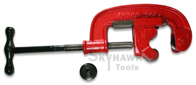 """New Plumbing 1"""" to """"3"""" Pipe Cutter with 2 Alloy Steel Cut Wheels"""