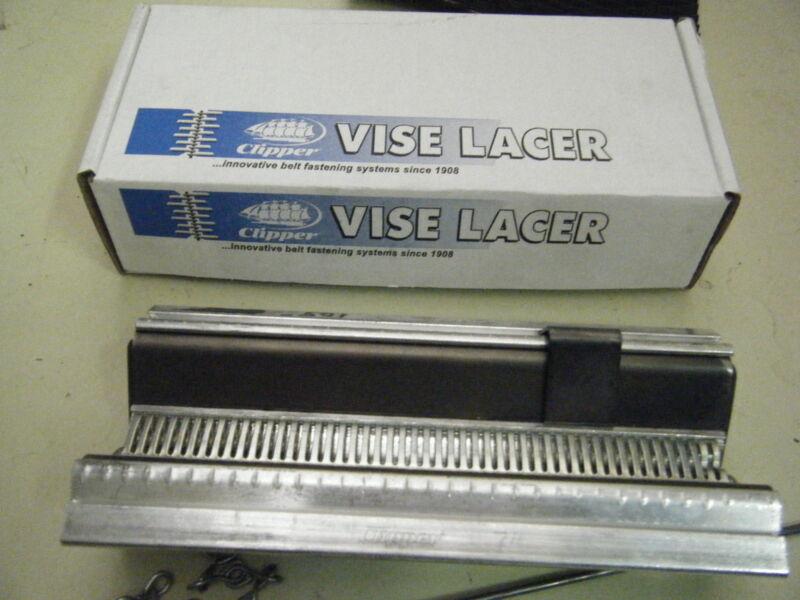 "Round Hay Baler Belt Tool Clipper Vise Vice Lacer Tool 7"" belt repair tool"