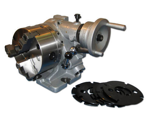 "8"" Deluxe Super Rotary Index ( F3 ), 3 Jaw Chuck Included"