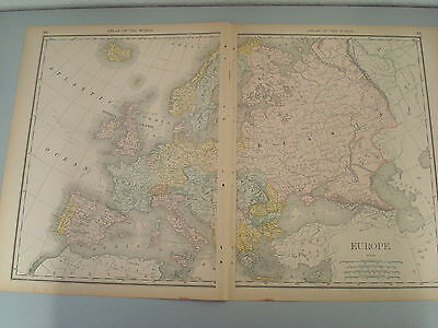 Map of Russia c1776 repro 36x18