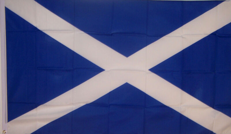 ST ANDREWS CROSS SCOTLAND SCOTTISH Andrew 3x5ft FLAG better quality usa seller