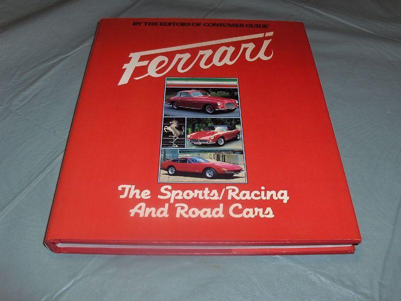 1982 FERRARI GODFREY EATON CAR BOOK