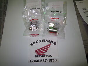 GENUINE HONDA POINTS AND CONDENSER SET ATC70