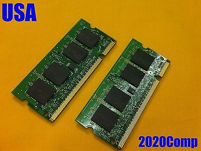*** 4GB (2 x 2GB) ***  RAM Memory TESTED!!! Acer Aspire 5532 5516 5517
