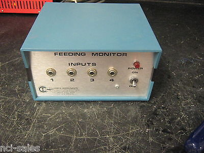Columbus Instruments Fm-4 Feeding Monitor 115 Vac