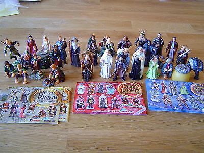 Herr der Ringe 1-3 D  2001-2003 Auswahl Komplettsätze HdR 1-3 mit allen BPZ (Herr Der Ringe 3d)