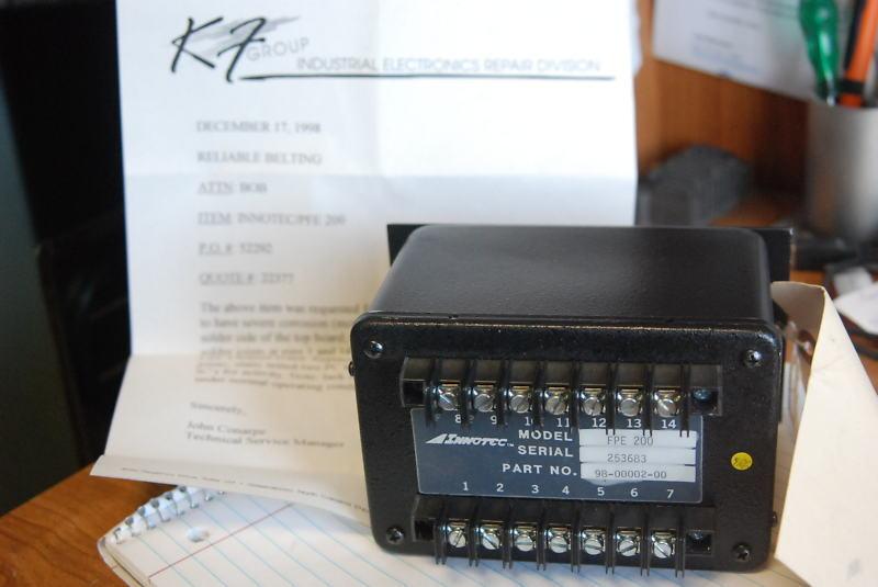 Innotec FPE-200 Gate Controller, 98-0002-00, Repaired