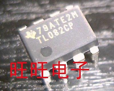 10pcs Tl082 Tl082cp High Voltage Ic Op Amp Dual Jfet Dip-8
