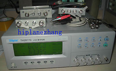 High-accuracy 0.1 Bench Top Lcr Meter Dqz Transformer Tester 100khz Th2817c