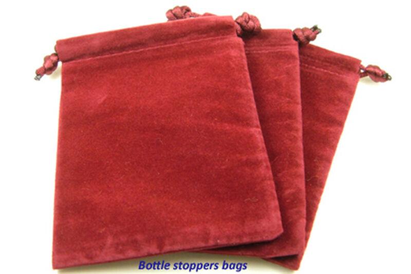 """Velvet Drawstring Bags 3""""x 4""""  #A1"""