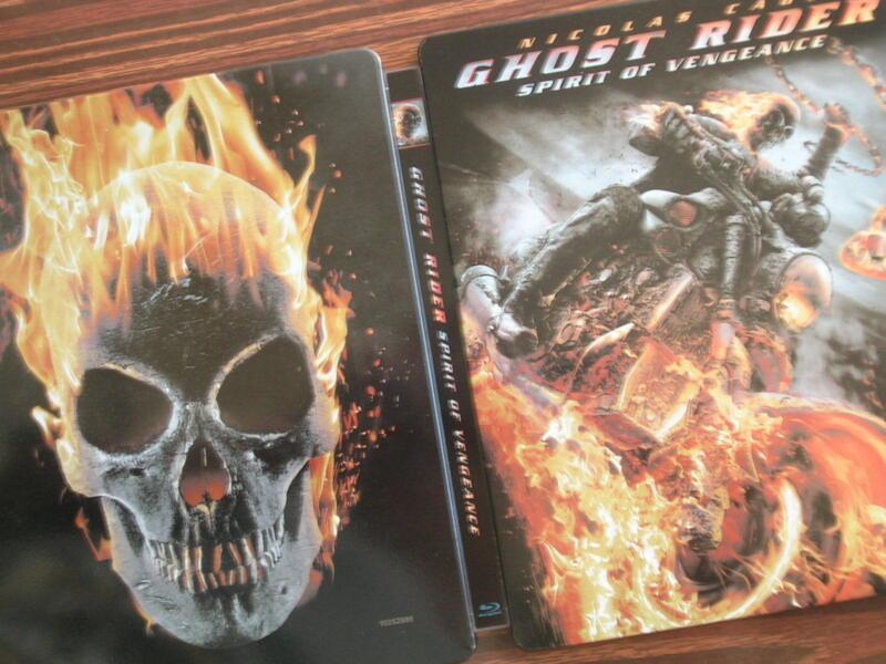GHOST RIDER : Spirit of Vengeance  Steelbook Case (empty steelbook case only!!!)