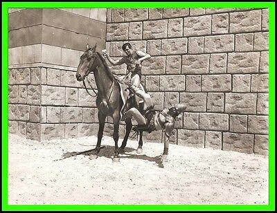 "DAN VADIS in ""Triumph of the Ten Gladiators"" Original Vintage Photo 1964"