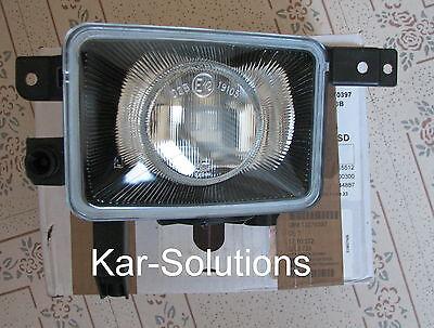 Vauxhall Corsa C Fog Light Lamp Left Nearside NSF Passenger Side Lens 13270397