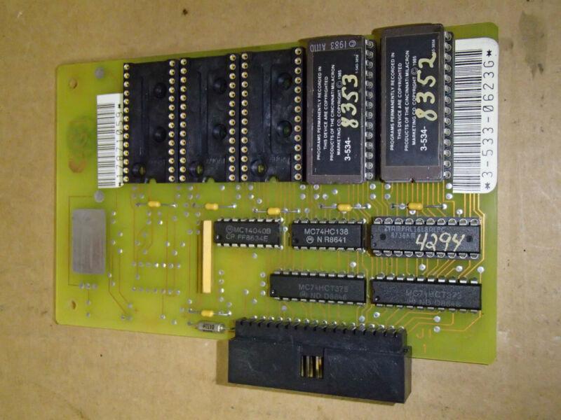 Cincinnati OC-1 Circuit Board PCB 3-533-0623G Rev A_35330623G_3-534-8352