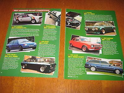 Ford Escort Mk1 Mark 2, Mark 4, MK5 Article