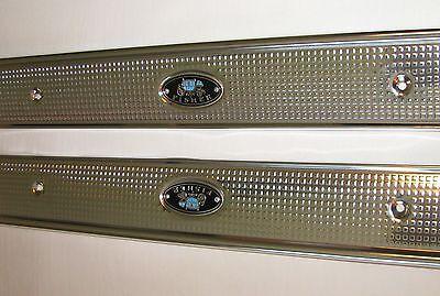 2 Door Hardtop Convertible - 1971-1975 GM B Body 2 Door Hardtop & Convertible Door Sill Plates 1 Pair