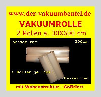 Genius für Solis Vakuumbeutel Goffriert 25 x 35 cm Wabenstruktur z.B 100 St