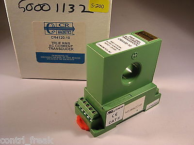 New Cr Magnetics Cr4120-10 True Rms Ac Current Transducer