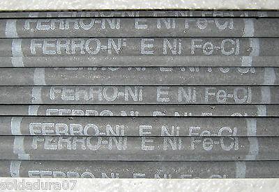 5 Electrodos Soldar FUNDICION FeNi 2,5 x350mm E NiFe-Cl Soldadura Hierro Fundido segunda mano  Embacar hacia Argentina