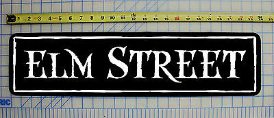 ELM STREET Halloween / Haunted House / Horror Sign 6