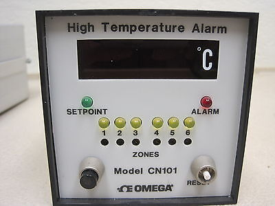 Omega High Temperature Alarm Model Cn101