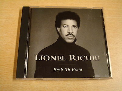 CD / LIONEL RICHIE - BACK TO FRONT