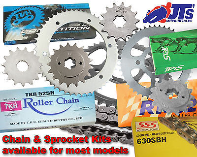 <em>YAMAHA</em> XS500 A  B 75 76 SPOKES MODEL HEAVY DUTY CHAIN  SPROCKET KI