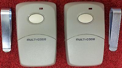 Multi-Code 3089 2-Pack MultiCode 308911 Linear MCS308911 Garage Gate Remote 300m