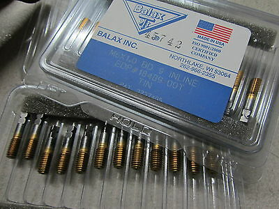 Balax 6mm X 1 Metric M6 D9 Stub Tin Coated Roll Form Thread Forming Tap 18489
