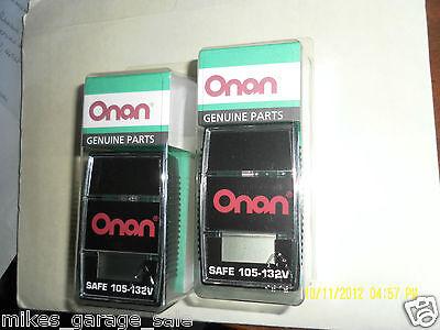 Two 0302-2036 Volt Meter Rv Genset Voltage Monitor 120vac Genuine Onan 302-2036