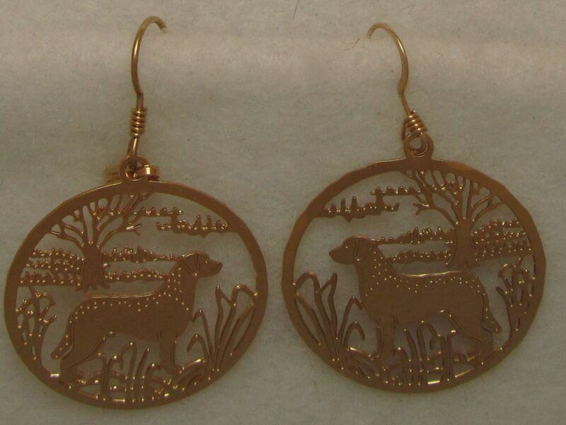 Chesapeake Bay Retriever Jewelry Dangle Earrings