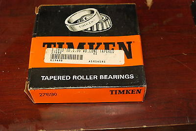 Timken 27690  Bearing New In Box