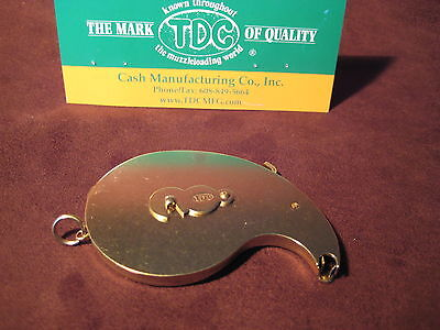 Ted Cash Universal Capper Brass Matte  Muzzleloading, Black Powder MADE IN USA ()