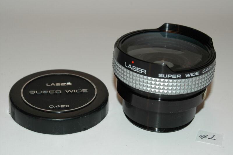 LASER SUPER WIDE 0.42X LENS 54MM