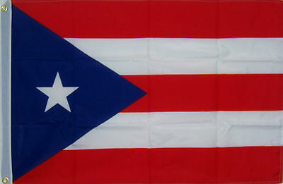 NEW BIG 2ftx3ft PUERTO RICO RICAN STATE INDOOR OUTDOOR FLAG