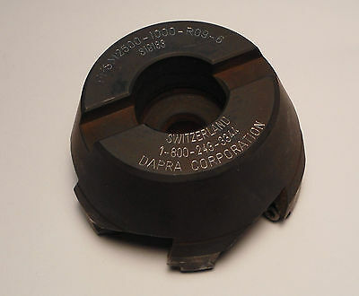 Dapra Indexable Face Mill Ffsm2500-1000-r09-6