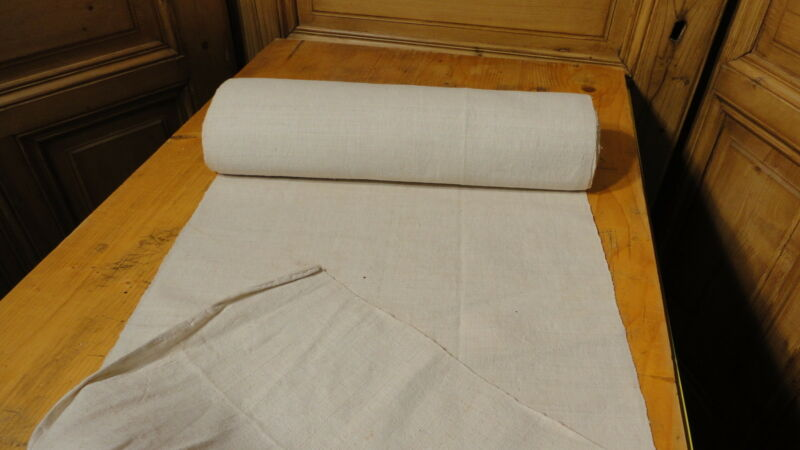 Homespun Linen Hemp/Flax Yardage 12 Yards x 20