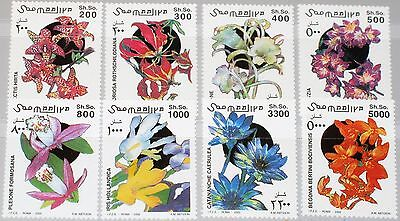 SOMALIA 2002 983-90 Blüten Definitives Flowers Blumen Flora Pflanzen Plants MNH
