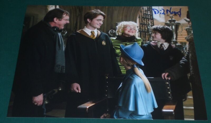 MIKE NEWELL SIGNED HARRY POTTER DIRECTOR PROMO PHOTO AUTOGRAPH POESY RADCLIFFE