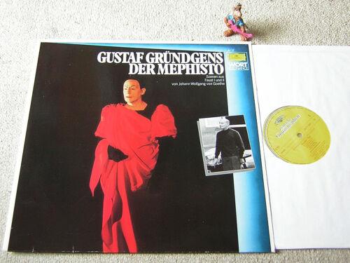 GUSTAF GRÜNDGENS Der Mephisto 1980 GER LP DG GOETHE FAUST I & II Szenen