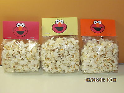 ELMO~ SESAME STREET~GOODY BAGS~TREAT BAGS~FAVOR BAGS~Birthday Party Decorations~