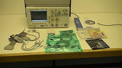 Agilent Mso6032a 300 Mhz 2 16 Ch Mixed Oscilloscop Wop8ml 8 Mpts Memory