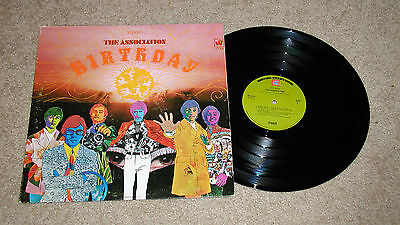 The Association Birthday Lp Record Vg